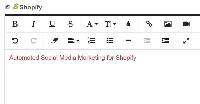 Auto Post to Shopify Blogs