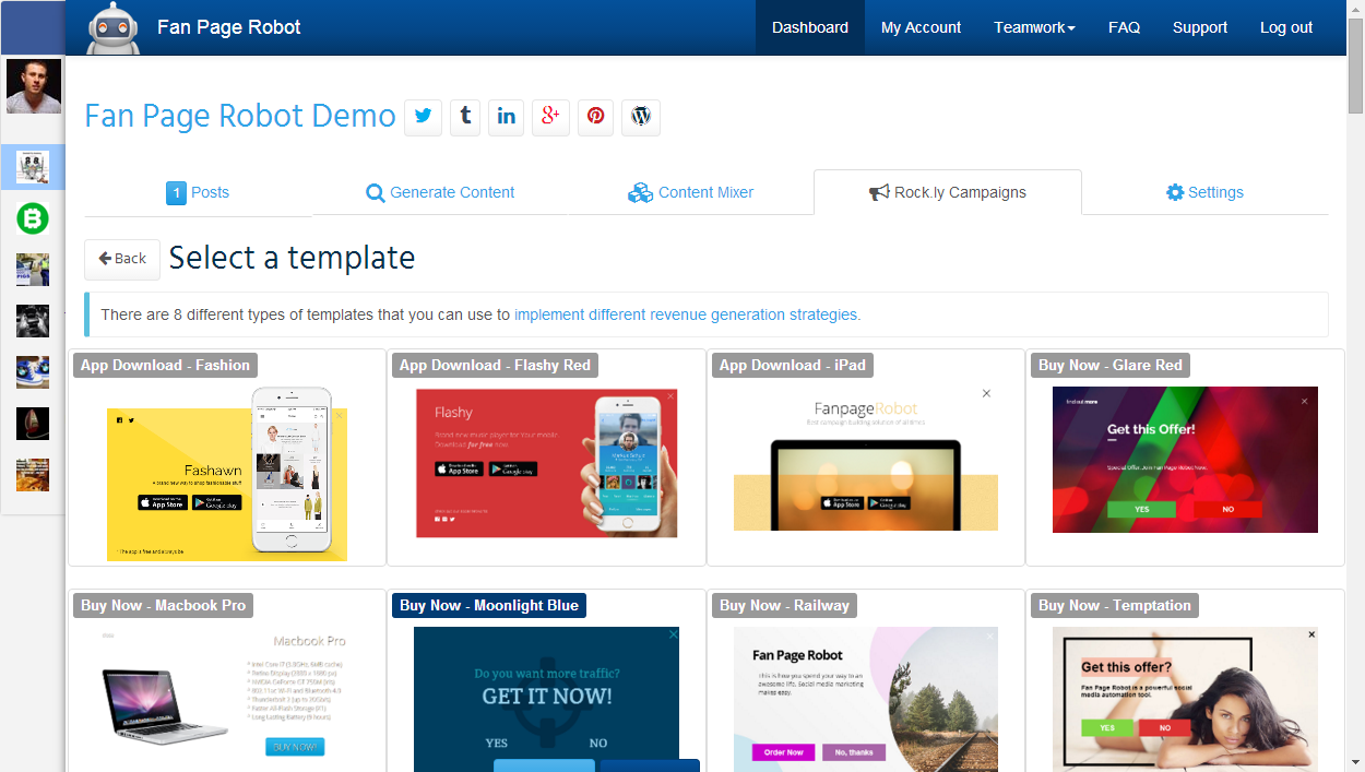 high converting lead generation templates